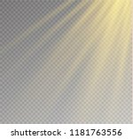 sunlight a translucent special... | Shutterstock .eps vector #1181763556