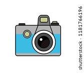 camera vector icon illustration.... | Shutterstock .eps vector #1181766196