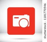 camera  vector icon | Shutterstock .eps vector #1181770546