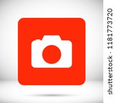 camera  vector icon | Shutterstock .eps vector #1181773720
