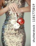 woman hands close up holding...   Shutterstock . vector #1181773819
