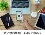 rayong  thailand september 17...   Shutterstock . vector #1181790079