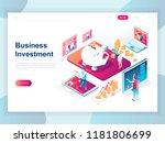 modern flat design isometric... | Shutterstock .eps vector #1181806699