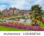kensington palace and gardens ... | Shutterstock . vector #1181838763