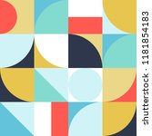 geometry minimalistic artwork... | Shutterstock .eps vector #1181854183