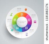 infographics design vector and... | Shutterstock .eps vector #1181882176