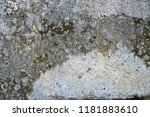 old grunge old concrete wall.... | Shutterstock . vector #1181883610