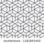 vector seamless pattern.... | Shutterstock .eps vector #1181891443