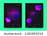 poster of electronic music... | Shutterstock .eps vector #1181893210