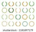 collection of different... | Shutterstock .eps vector #1181897179