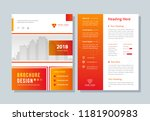 layout  page  flyer  corporate  ... | Shutterstock .eps vector #1181900983