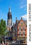 delft  netherlands   july 31st... | Shutterstock . vector #1181903800