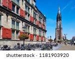 delft  netherlands   july 31st... | Shutterstock . vector #1181903920