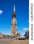 delft  netherlands   july 31st... | Shutterstock . vector #1181903923