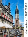 delft  netherlands   july 31st... | Shutterstock . vector #1181903926
