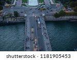 paris france october 6  2016 ... | Shutterstock . vector #1181905453