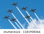 warsaw  poland   august 15 ... | Shutterstock . vector #1181908366