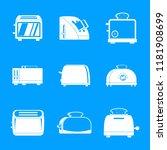 toaster kitchen bread gourmet...   Shutterstock .eps vector #1181908699