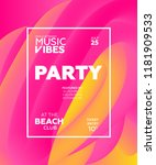 night party banner template for ...   Shutterstock .eps vector #1181909533