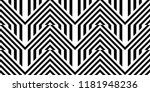 seamless pattern with striped... | Shutterstock .eps vector #1181948236