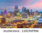 kansas city  missouri  usa... | Shutterstock . vector #1181969986
