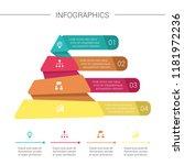 pyramid infographics. funnel...   Shutterstock .eps vector #1181972236
