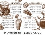 coffee restaurant  cafe... | Shutterstock .eps vector #1181972770