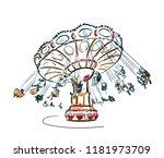 Carousel Vector Sketch