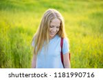 close up portrait of beautiful... | Shutterstock . vector #1181990716