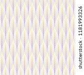 tangled line seamless vector... | Shutterstock .eps vector #1181993326