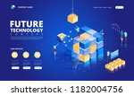 technology isometric concept.... | Shutterstock .eps vector #1182004756