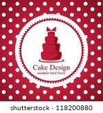 cake design | Shutterstock .eps vector #118200880