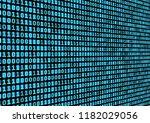 binary code background.... | Shutterstock .eps vector #1182029056
