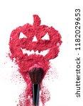 abstract explosion halloween... | Shutterstock . vector #1182029653