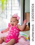 innocent little baby. | Shutterstock . vector #1182038326