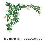 christmas vector design element ... | Shutterstock .eps vector #1182039796