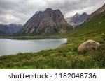 nianbaoyuze   holy mountain in... | Shutterstock . vector #1182048736