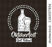 oktoberfest germany celebration | Shutterstock .eps vector #1182057856