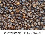 coffee bean texture for... | Shutterstock . vector #1182076303