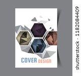 business brochure. flyer design.... | Shutterstock .eps vector #1182084409