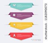 vector info graphics for your... | Shutterstock .eps vector #1182090073
