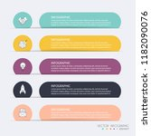 vector info graphics for your... | Shutterstock .eps vector #1182090076