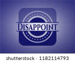 disappoint emblem with jean...   Shutterstock .eps vector #1182114793