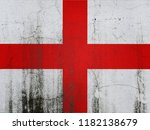 england flag above simple stock ... | Shutterstock . vector #1182138679