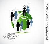 vector illustration of a banner ... | Shutterstock .eps vector #1182144649