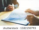 business people meeting...   Shutterstock . vector #1182150793