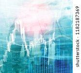 forex trading  financial market ... | Shutterstock . vector #1182187369