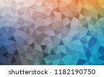 light blue  yellow vector... | Shutterstock .eps vector #1182190750