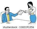 vector illustration character... | Shutterstock .eps vector #1182191356