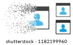 call center manager calendar... | Shutterstock .eps vector #1182199960